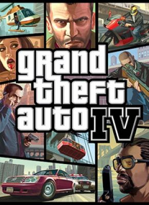 Obal hry Grand Theft Auto 4
