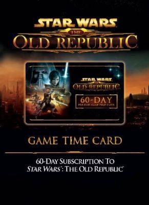 Obal hry Star Wars: The Old Republic GAME TIME CARD