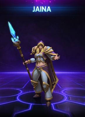 Obal hry Jaina Heroes of the Storm