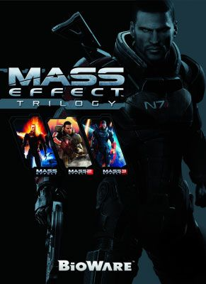 Obal hry Mass Effect Trilogy