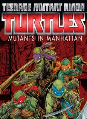 Obal hry Teenage Mutant Ninja Turtles: Mutants in Manhattan