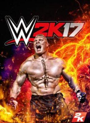 Obal hry WWE 2K17