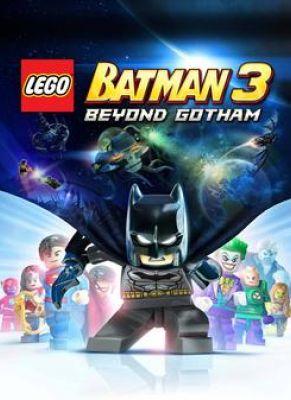 Obal hry LEGO: Batman 3 Beyond Gotham
