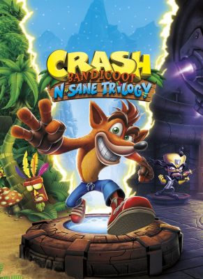 Obal hry Crash Bandicoot N.Sane Trilogy