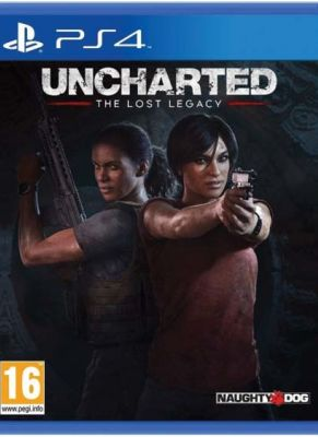 Obal hry Uncharted: The Lost Legacy