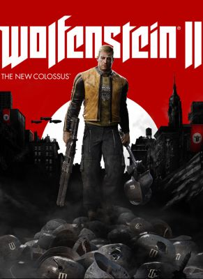 Obal hry Wolfenstein 2: The New Colossus
