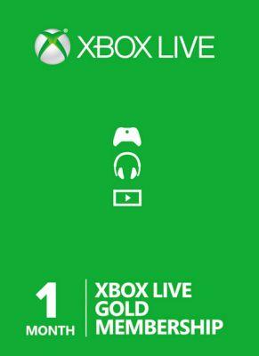 Obal hry Xbox Live GOLD 1 mesiac EU