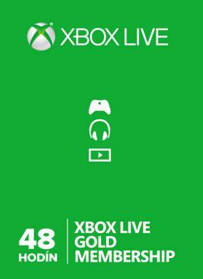 Obal hry Xbox Live GOLD 48 hodín