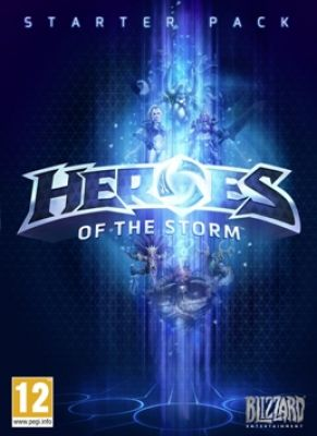 Obal hry Heroes of the Storm Starter Pack