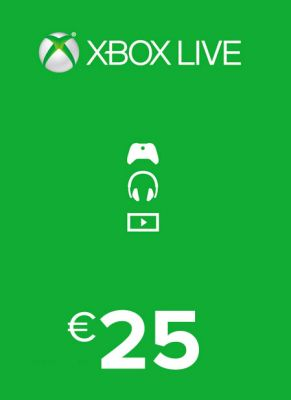 Obal hry Xbox Live Card 25€