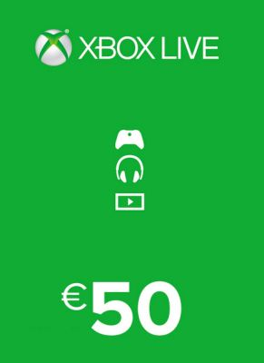 Obal hry Xbox Live Card 50€