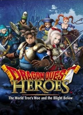 Obal hry Dragon Quest Heroes