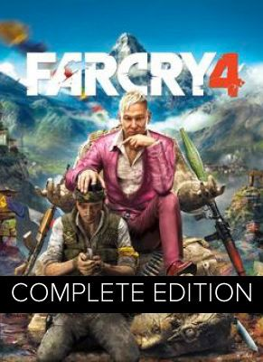 Obal hry Far Cry 4 Complete Edition