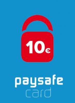 Obal hry PaySafeCard 10€