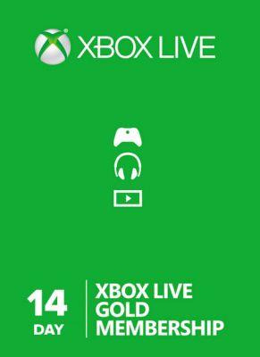 Obal hry Xbox Live GOLD 14 dní
