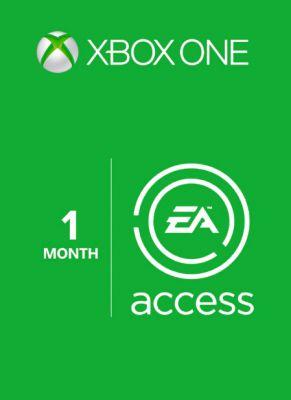 Obal hry EA Access Xbox One 1 Mesiac