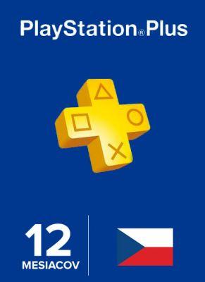 Obal hry Playstation Plus členstvo na 365 dní CZ