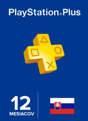 Obal hry Playstation Plus členstvo na 365 dní SK
