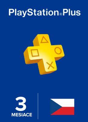 Obal hry Playstation Plus členstvo na 90 dní CZ