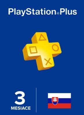 Obal hry Playstation Plus členstvo na 90 dní SK