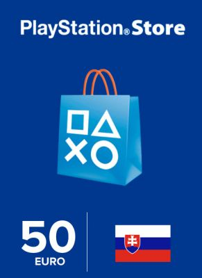 Obal hry Playstation Store 50€ SK