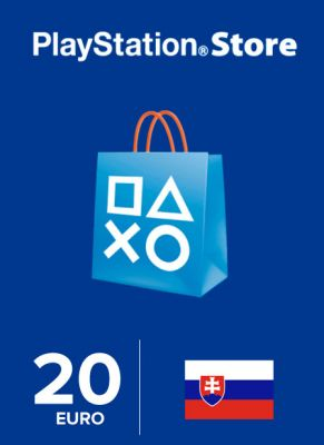 Obal hry Playstation Store 20€ SK