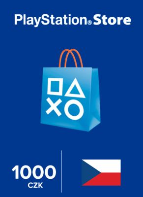 Obal hry Playstation Store 1000 Kč
