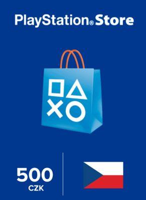 Obal hry Playstation Store 500 Kč