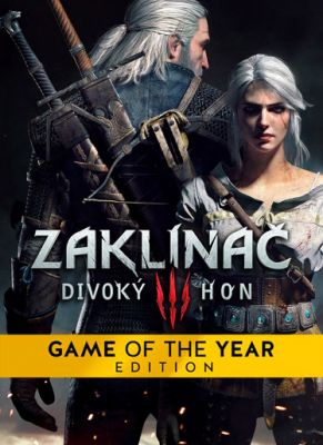 Obal hry Zaklínač 3: Divoky Hon Game of the Year Editon