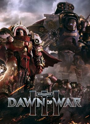 Obal hry Warhammer 40 000 Dawn of War 3