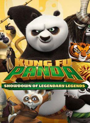 Obal hry Kung Fu Panda: Showdown of Legendary Legends