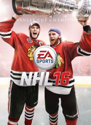 Obal hry NHL 16