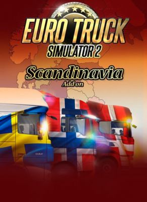 Obal hry Euro Truck Simulator 2: Škandinávia