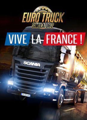 Obal hry Euro Truck Simulator 2: Vive La France!