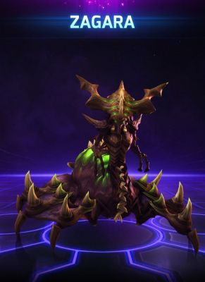 Obal hry Zagara Heroes of the Storm