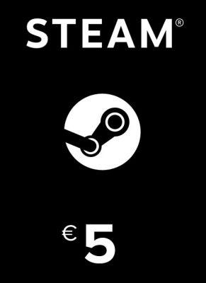 Obal hry Steam kredit 5€