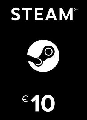 Obal hry Steam kredit 10€