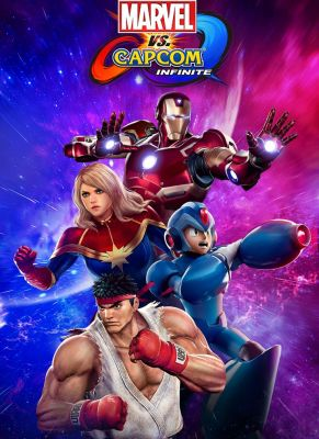 Obal hry Marvel vs Capcom Infinite