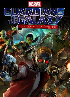 Obal hry Guardians of the Galaxy: The Telltale Series
