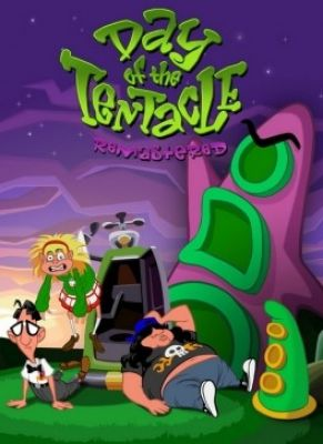 Obal hry Day of the Tentacle Remastered