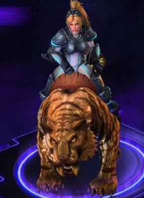 Obal hry Golden Tiger Mount Heroes of the Storm