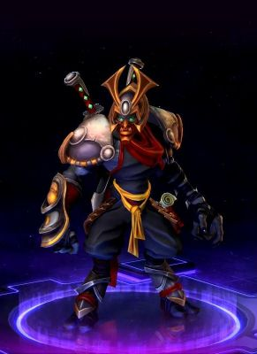 Obal hry Ronin Zeratul Heroes of the Storm