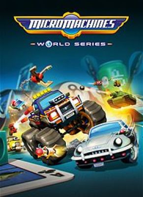 Obal hry Micro Machines: World Series