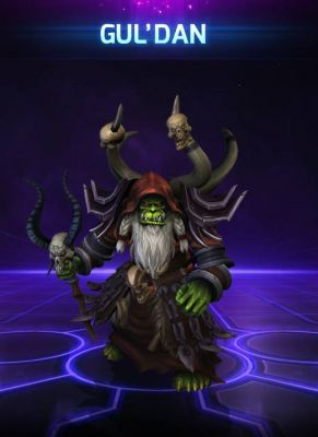 Obal hry Guldan Heroes of the Storm