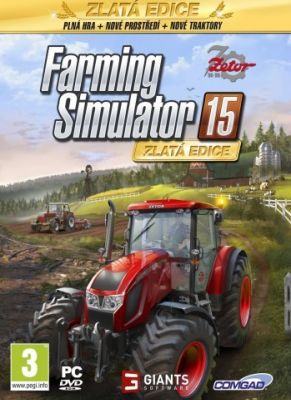 Obal hry Farming simulator 15 Gold