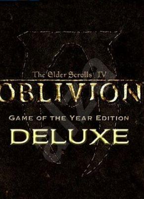 Obal hry The Elder Scrolls IV: Oblivion GOTY Deluxe Edition
