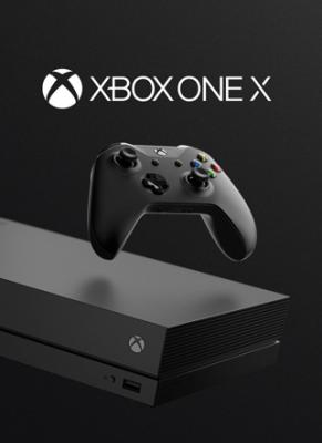 Obal hry XBOX One X 1 TB konzola čierna