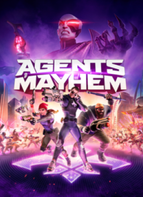 Obal hry Agents of Mayhem