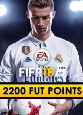 Obal hry FIFA 18 PC 2200 POINTS