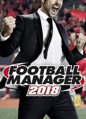 Obal hry Football Manager 2018